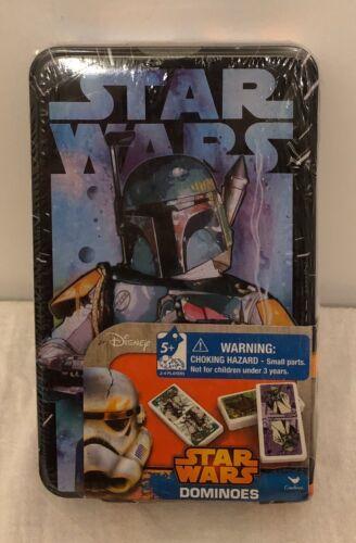 Star Wars Boba Fett Dominos w//Collectible Tin NEW-SEALED Disney Lucasfilm Ltd