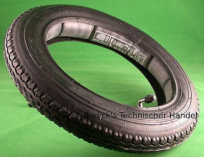 3 x Reifen Schlauch 12.1//2x2.1//4 12,5x2,25 57-203 Ventil 90//90° Fahrrad Roller