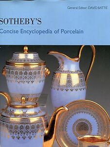 Battie-David-SOTHEBYS-CONCISE-ENCYCLOPEDIA-OF-PORCELAIN-Hardback-BOOK