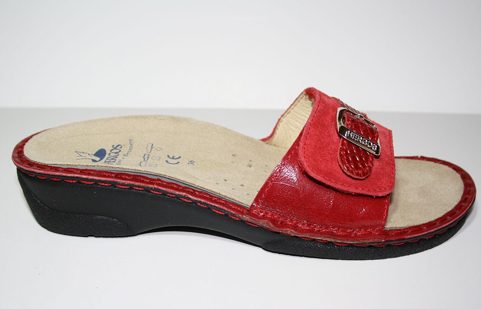 Hergos H340 Damenschuhe Pantofola Scalzato Primavera Estate Plantare Estraibile