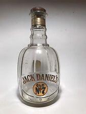 Vintage Jack Daniels Old No 7 Decanter Whiskey Bottle Dated 1975 *Incorrect Cork