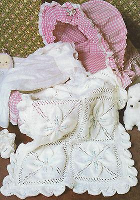 Baby blanket patterns collection on ebay baby blanket knitting pattern shawl pram cover dk boys girls 52x75cm 601 dt1010fo