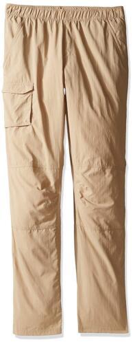 Columbia Silver Ridge Boys Pull-on Pants British Tan nwt $40