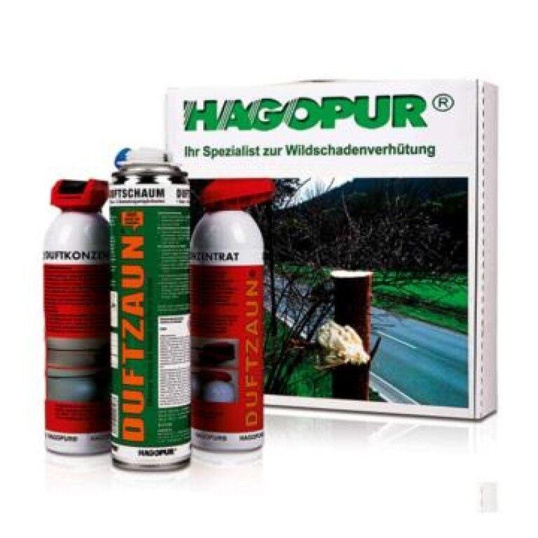 Hagopur Duftzaun Juego Vario Espuma + Concentrado Wildschutz Valla
