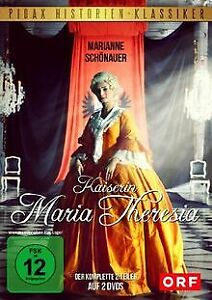 Kaiserin-Maria-Theresia-Der-komplette-2-Teiler-P-DVD-Zustand-sehr-gut