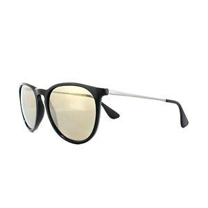 c566d1c4fb Ray-Ban Sunglasses Erika 4171 601 5A Black Light Brown Gold Mirror ...