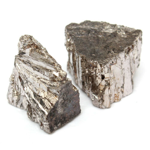100g Bismuth Metal  Ingot Chunk 99.99/% Pure Crystals Geodes For Bismuth Crystals