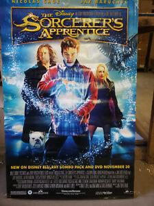 The Sorcerer S Apprentice 2010 26x40 Rolled 26x40 Dvd Promo Poster Ebay