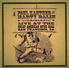 Paul Kantner & Marty Balin Live Great American Music Hall 2000 2-CD NEW SEALED