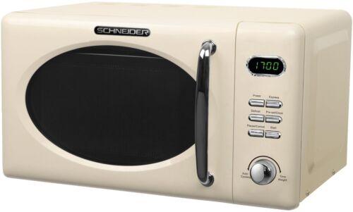 Schneider microonde CREMA 20 LITRI 700 Watt design retrò