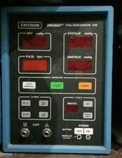 N Critikon Dinamap Vital Signs Monitor 8100 B346