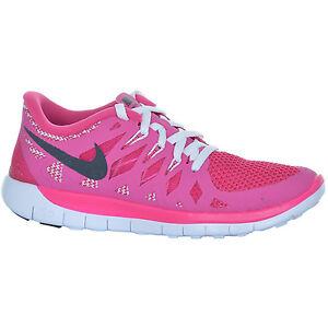 Nike Kinder Freizeitschuhe Free 5.0, Größe 36 in Pink