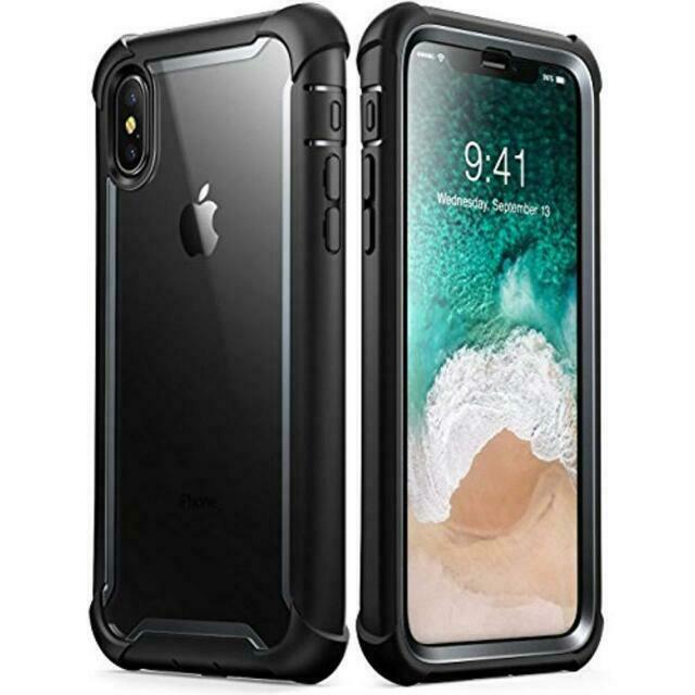 Apple iPhone X 10 Case Full Body Bumper Cover Built in Screen Protector Ares