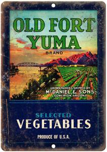 Vintage Look Reproduction Metal Sign Sweetex Texas Vegetables