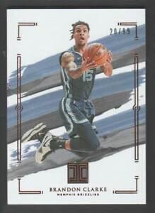 2020-21 Panini Impeccable Basketball #37 Brandon Clarke 20/99