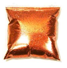 "9oz / 266ml Bright Orange Metal Flake .015"" Auto Paint Additive Flakes - LF079"
