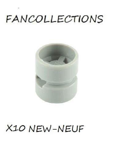 x 12mm White Wheel 11mm D 6014b NEUF LEGO x 10