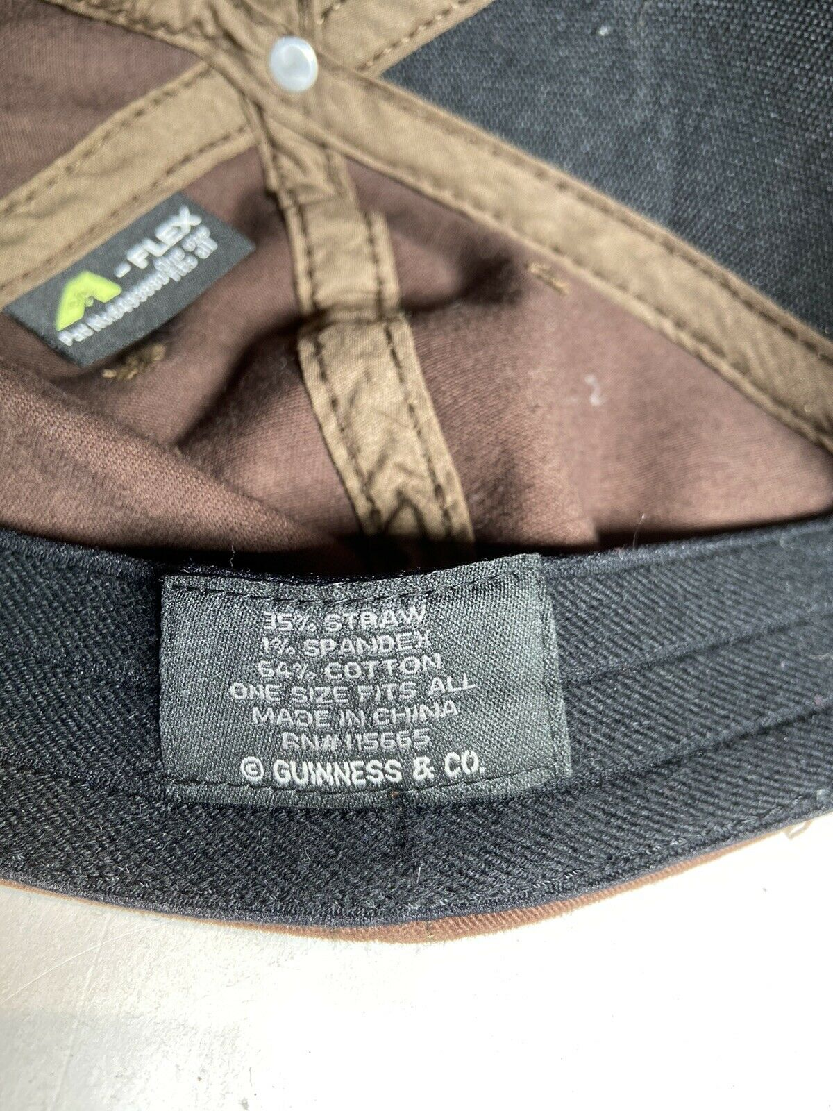 Guinness Beer Woven Straw Cap Hat OS - image 6