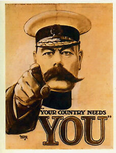 Image Is Loading Lord Kitchener 034 Your Country Needs You