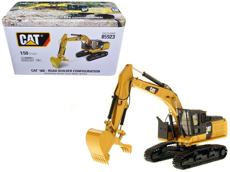 CAT CATERPILLAR 568 GF ROAD BUILDER 1 50 MODEL BY DIECAST MASTERS 85923 NEW