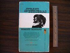Cyrano de Bergerac By Edmond Rostand Vintage 1959 Bantam Classic Book Play