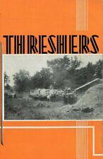 Ih Mccormick Deering Threshers Brochure Booklet International Harvester Ihc