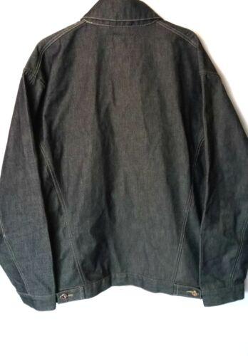 en Taille Blakes pour Jeans grise Veste jean homme New p5 L wXfqEUXC