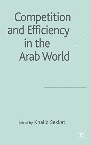 Very Good, Competition and Efficiency in the Arab World, , Book
