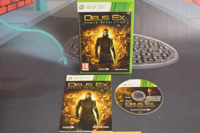Deus Ex Human Revolution Pal Fr Xbox 360