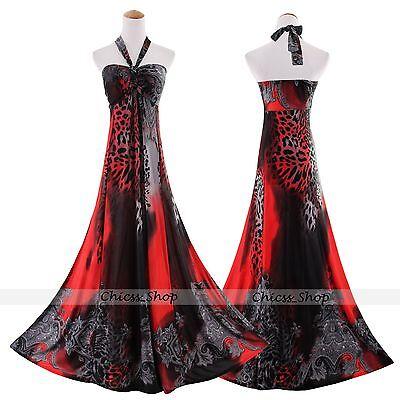 New Women Plus Size Summer Evening Long Maxi Dress Size AU 20 22 24 26 28 30