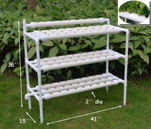 Details about Hydroponic Site Grow Kit 90 Planting Sites Garden Plant  System Vegetable