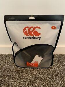 Men's Canterbury vaprodri radere al suolo Protettiva Rugby Canotta Taglia Media Nuovo Con Etichetta