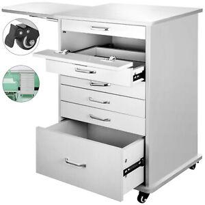 5 Drawer Assistant's Mobile Cabinet Alabama Cart Dental ...