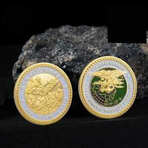 US-Military-Special-Forces-Navy-SEALs-Team-Trident-Badge-USN-Commemorative-Coin