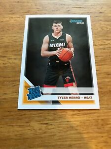 2019-20-Donruss-Rated-Rookie-Tyler-Herro-Miami-Heat