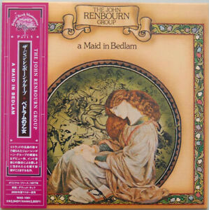 THE-JOHN-RENBOURN-GROUP-A-MAID-IN-BEDLAM-LTD-ED-CD-JAPAN-2005-WAS-1061-NEW