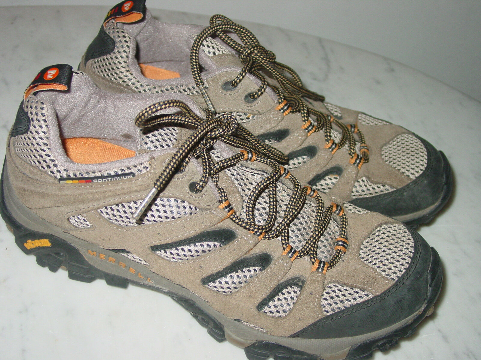 Merrell Moab Ventilador Nogal J86595 Trail Hiking tamaño del zapato 10