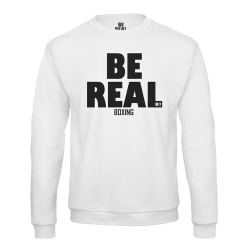 Be real Felpa BOXING Iron Mike Tyson Pullover SPORT CHAMPION SWEAT Legend