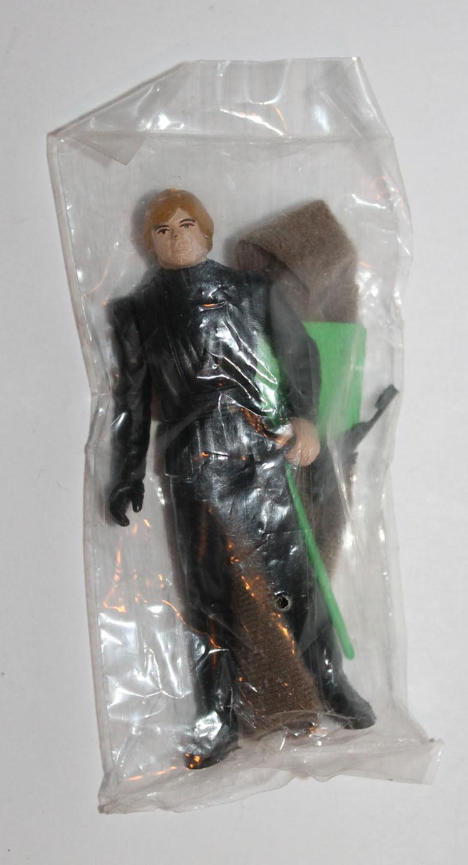 1983 Kenner Star Wars Luke Skywalker Jedi Knight Sigillato Borsa Baggie