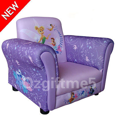 Disney Tinkerbell Kid Toddler Sofa Lounge Couch Chair