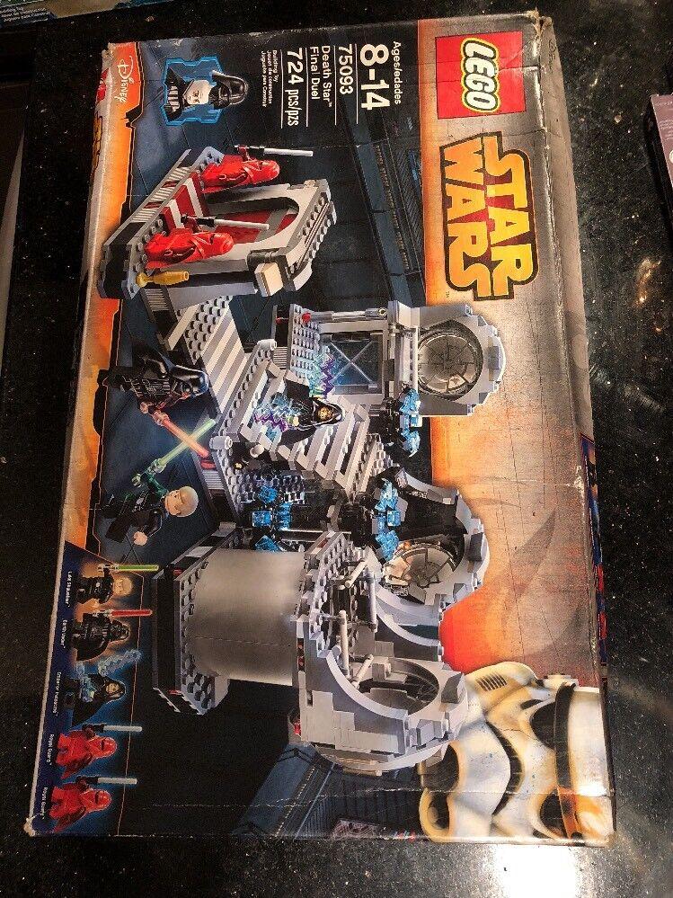 LEGO stjärnornas krig död stjärna Final Duel 75093 NY Skadad låda Seal öppna