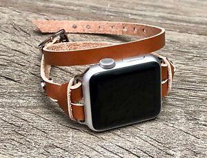 Light Brown Leather Bracelet For Le