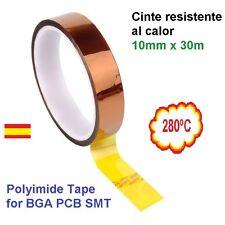 Cinta aislante Térmica 10mm Polyimide Tape para BGA PCB SMT Soldering Shielding