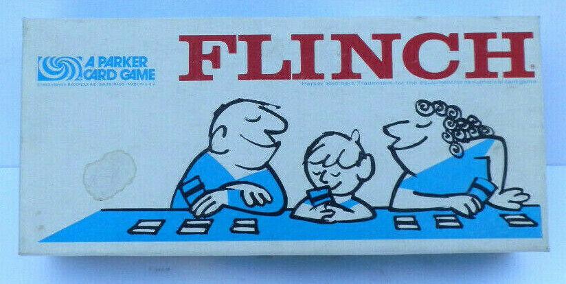 Vintage Compete 1963 FLINCH The Famous CARD GAME PARKER BredHERS SALEM MASS USA