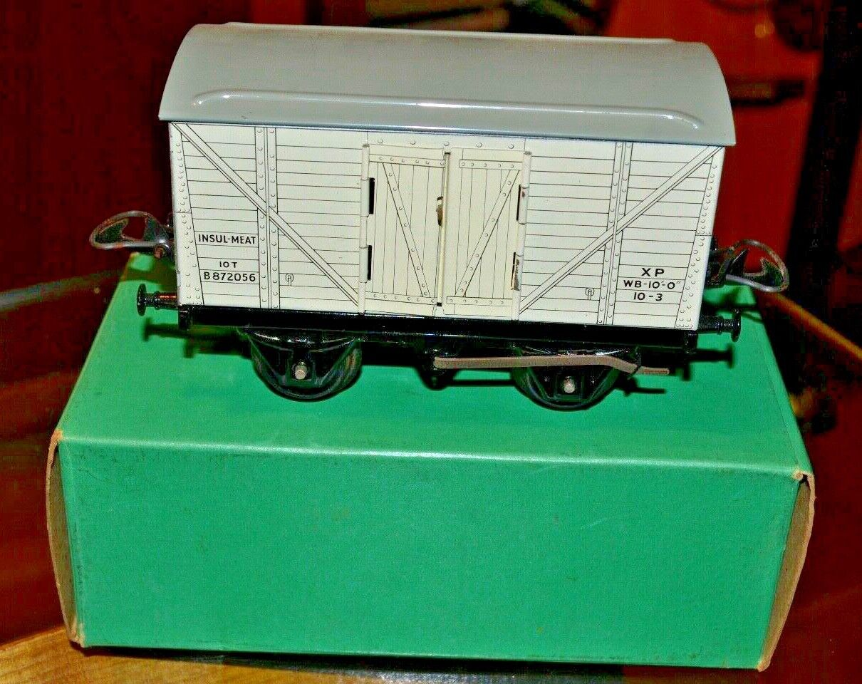 Vintage Boxed Hornby Trains O Gauge Refrigerator Van No. 50; Near Mint