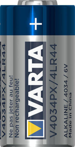 2 x Varta V4034PX 6V Foto Batterie 4LR44 PX28A 4SR44 A544-170mAh