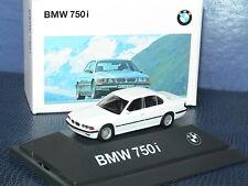 Herpa bmw 750i e-38 1994 Weiss lim. 2000st.419420711 ov