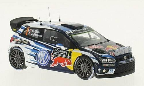 IXO Volkswagen Polo R WRC Winner Rallye Mo 1 43 RAM621