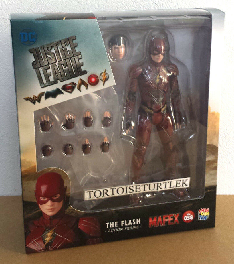 Medicom MAFEX 058 Justice League Flash Action Figure