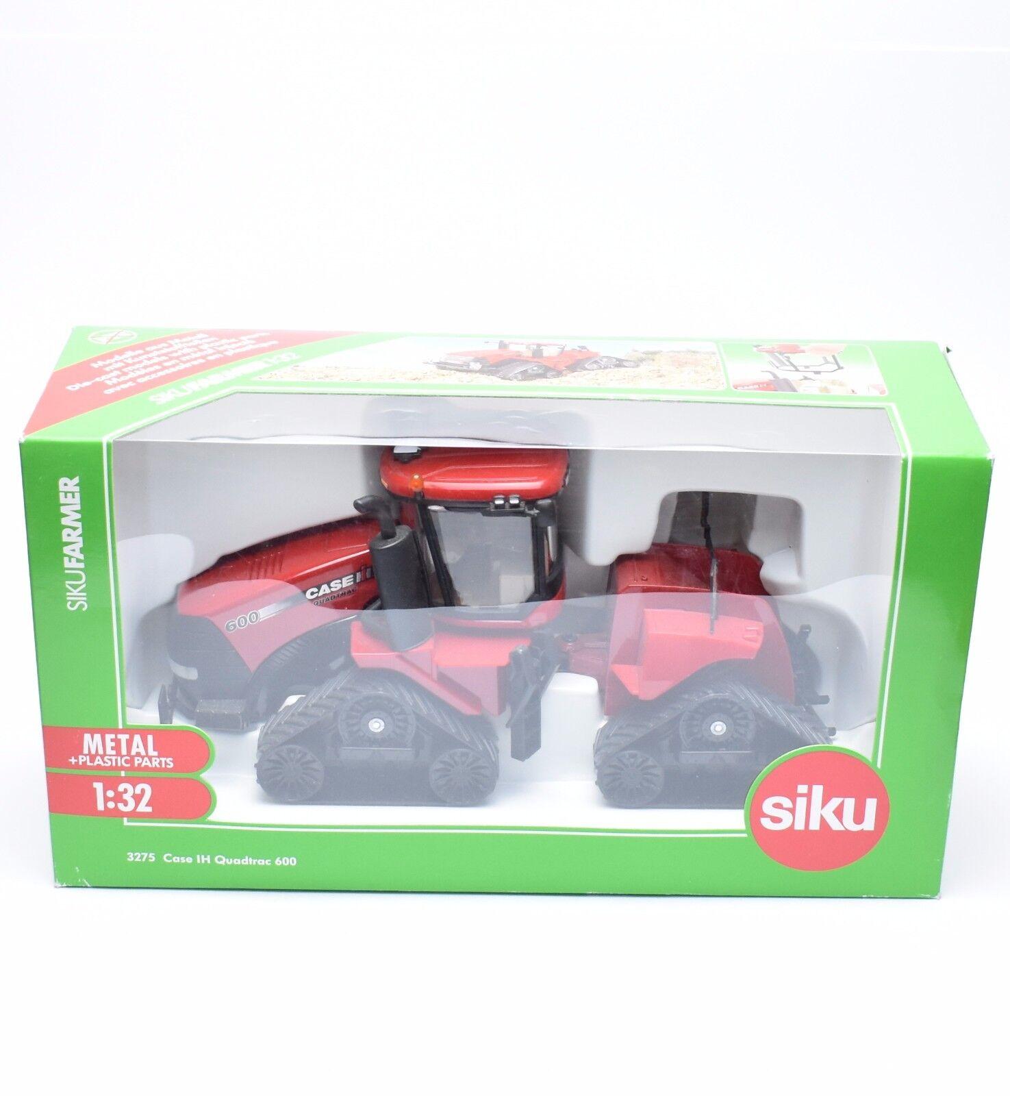 1 32 Siku 3275 FARMER Case IH Quadtrac 600, neuf dans sa boîte, k047